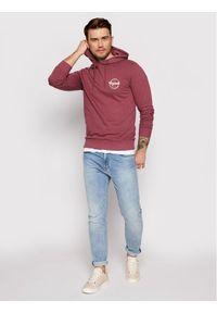 Jack & Jones - Jack&Jones Bluza Brians 12185699 Różowy Regular Fit. Kolor: różowy