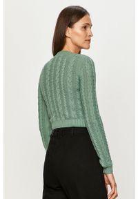 Sweter TALLY WEIJL długi, z długim rękawem