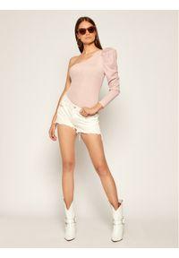 Różowa bluzka body Guess