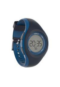 KALENJI - Zegarek do biegania W200 S niebieski. Rodzaj zegarka: cyfrowe. Kolor: niebieski. Styl: sportowy