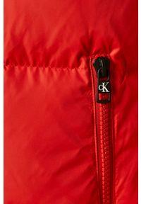 Czerwona kurtka Calvin Klein Jeans bez kaptura