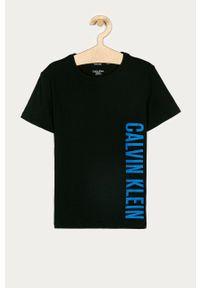 Biały t-shirt Calvin Klein Underwear casualowy, z nadrukiem, na co dzień