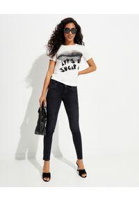 ONETEASPOON - Czarne jeansy rurki Freebirds II Low Waist. Kolor: czarny