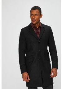 Czarny płaszcz Only & Sons casualowy, na co dzień