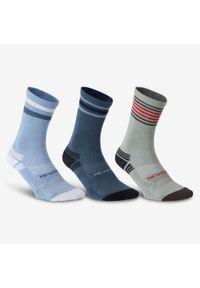 NEWFEEL - Skarpetki do chodzenia/nordic walking WS 100 Mid (3 pary). Materiał: bawełna, poliamid, elastan. Sport: turystyka piesza