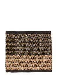 Beżowy szalik Granadilla z aplikacjami, na zimę