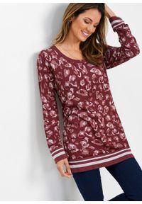 Brązowy sweter bonprix długi