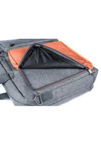 Pomarańczowa torba na laptopa MODECOM casualowa