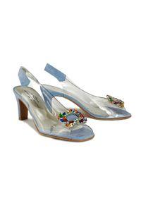Niebieskie sandały Brenda Zaro