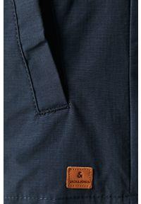 Niebieska kurtka Jack & Jones z kapturem