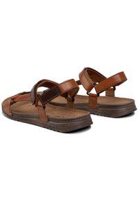 Brązowe sandały Lasocki For Men