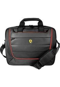 "Torba Ferrari Ferrari Torba FECB15BK laptop 15"" czarny/black Scuderia. Kolor: czarny"