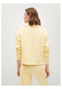 mango - Mango Bluza Cellia 87068639 Żółty Regular Fit. Kolor: żółty