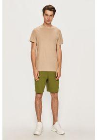 Zielone szorty adidas Originals na co dzień, sportowe
