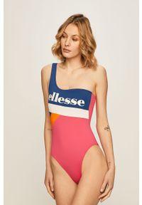 Wielokolorowy strój kąpielowy Ellesse z odpinanymi ramiączkami, z nadrukiem