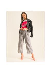 Szare spodnie materiałowe Guess