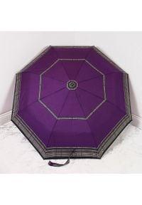 Parasol składany DOPPLER PA122 fioletowy. Kolor: fioletowy. Materiał: materiał