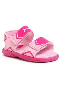 Różowe sandały Rider