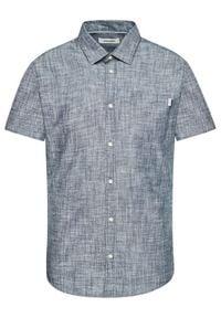 Jack & Jones - Jack&Jones Koszula Simon Ss One Pocket 12182754 Szary Slim Fit. Kolor: szary