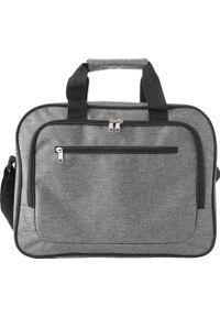 Szara torba na laptopa KEMER
