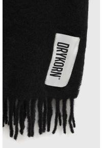 Drykorn - Szalik Kasay. Kolor: czarny. Materiał: dzianina