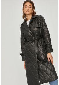 Czarny płaszcz Answear Lab na co dzień, wakacyjny, bez kaptura