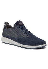 Geox Sneakersy U Aerantis A U927FA 02243 C4064 Granatowy. Kolor: niebieski