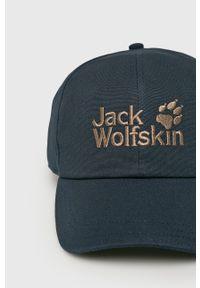 Niebieska czapka z daszkiem Jack Wolfskin