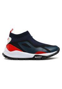 Primigi - Sneakersy PRIMIGI - 7436233 S Navy/Rosso. Kolor: niebieski. Materiał: materiał