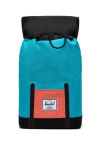Herschel - Plecak. Kolor: niebieski