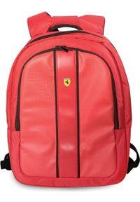 "Plecak Ferrari Ferrari Plecak FESNMBP15RE 15"" czerwony/red On Track uniwersalny. Kolor: czerwony"