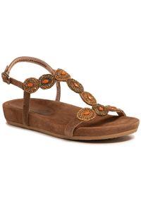 Brązowe sandały Salamander