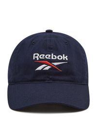Czapka z daszkiem Reebok - Active Foundation Badge GM6037 Vactor Navy. Kolor: niebieski. Materiał: materiał, bawełna