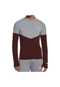 Bluza męska do biegania Nike Sphere Run Division Wool CU7874. Materiał: poliester, materiał, wełna. Sport: bieganie