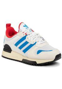 Adidas - Buty adidas - Zx 700 Hd J FX5235 Ftwwht/Cwhite/Cblack. Okazja: na spacer. Zapięcie: sznurówki. Kolor: biały. Materiał: materiał. Szerokość cholewki: normalna