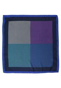 Wielokolorowa poszetka Alties w kolorowe wzory