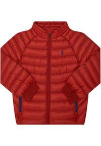 Czerwona kurtka przejściowa Polo Ralph Lauren polo