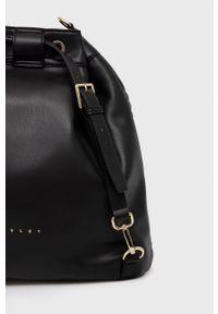 Sisley - Plecak. Kolor: czarny