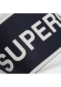 Niebieskie klapki Superga
