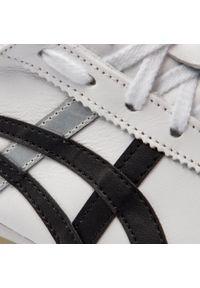 Białe półbuty Onitsuka Tiger eleganckie, z cholewką