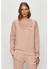 Różowa bluza Ellesse na co dzień, z nadrukiem