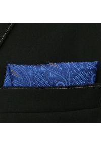 Niebieska poszetka Alties paisley