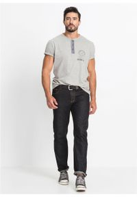 Czarne jeansy bonprix sportowe