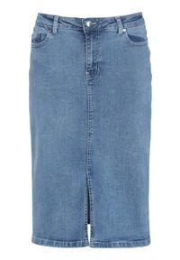 Niebieska spódnica Happy Holly z aplikacjami