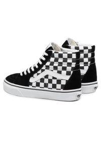 Czarne buty sportowe z cholewką, Vans SK8
