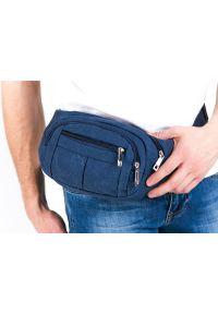Niebieska torba Pako Jeans sportowa