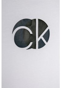 Wielokolorowy t-shirt Calvin Klein Underwear na co dzień, casualowy, z nadrukiem