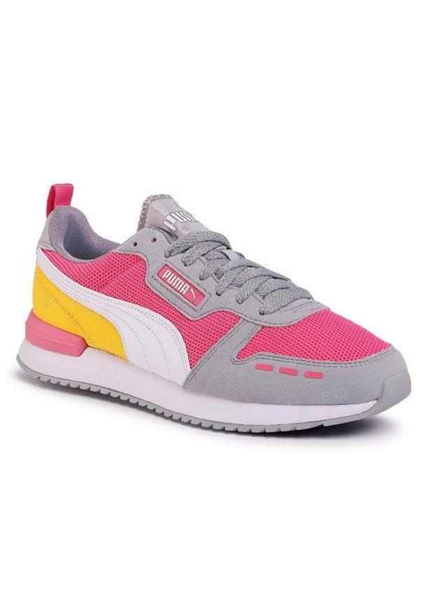 Różowe buty trekkingowe Puma