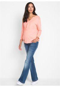 """Dżinsy ciążowe BOOTCUT bonprix niebieski """"stone"""". Kolekcja: moda ciążowa. Kolor: niebieski #5"""