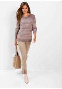 Różowy sweter bonprix vintage